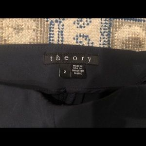 Theory Pants & Jumpsuits - Theory Navy Cropped Pant